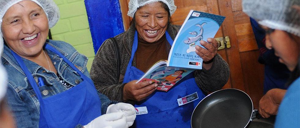 2,800 madres de comedores recibirán educación alimentaria nutricional gratis