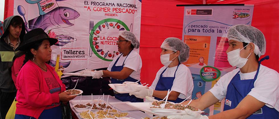 """""""A Comer Pescado"""" ingresa a la Región de menor consumo en Perú"""