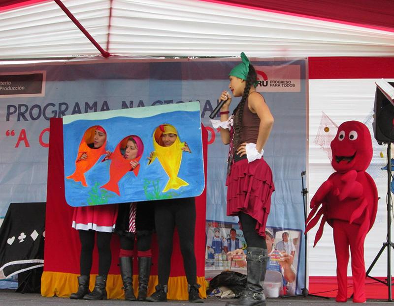 """""""A Comer Pescado"""" ofrecerá Fiesta Educativa Familiar en el Parque de las Leyendas"""